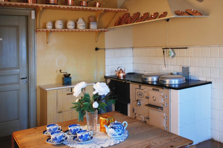 Interiör kök med AGAspis
