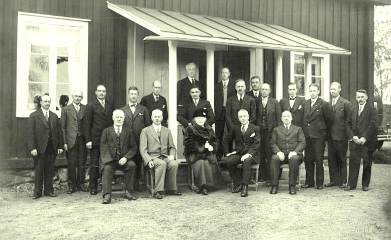 Kommunalpolitiker med Selma i mitten