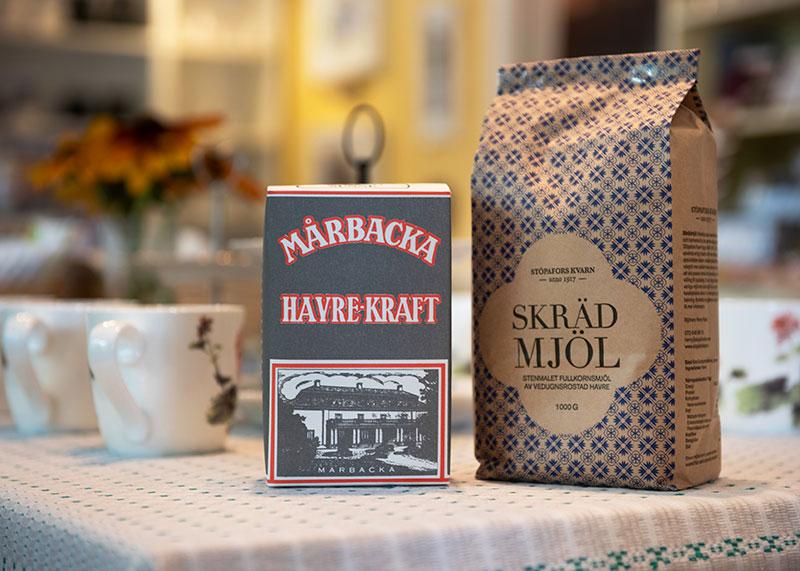 Förpackning med Havrekraft och Skrädmjöl
