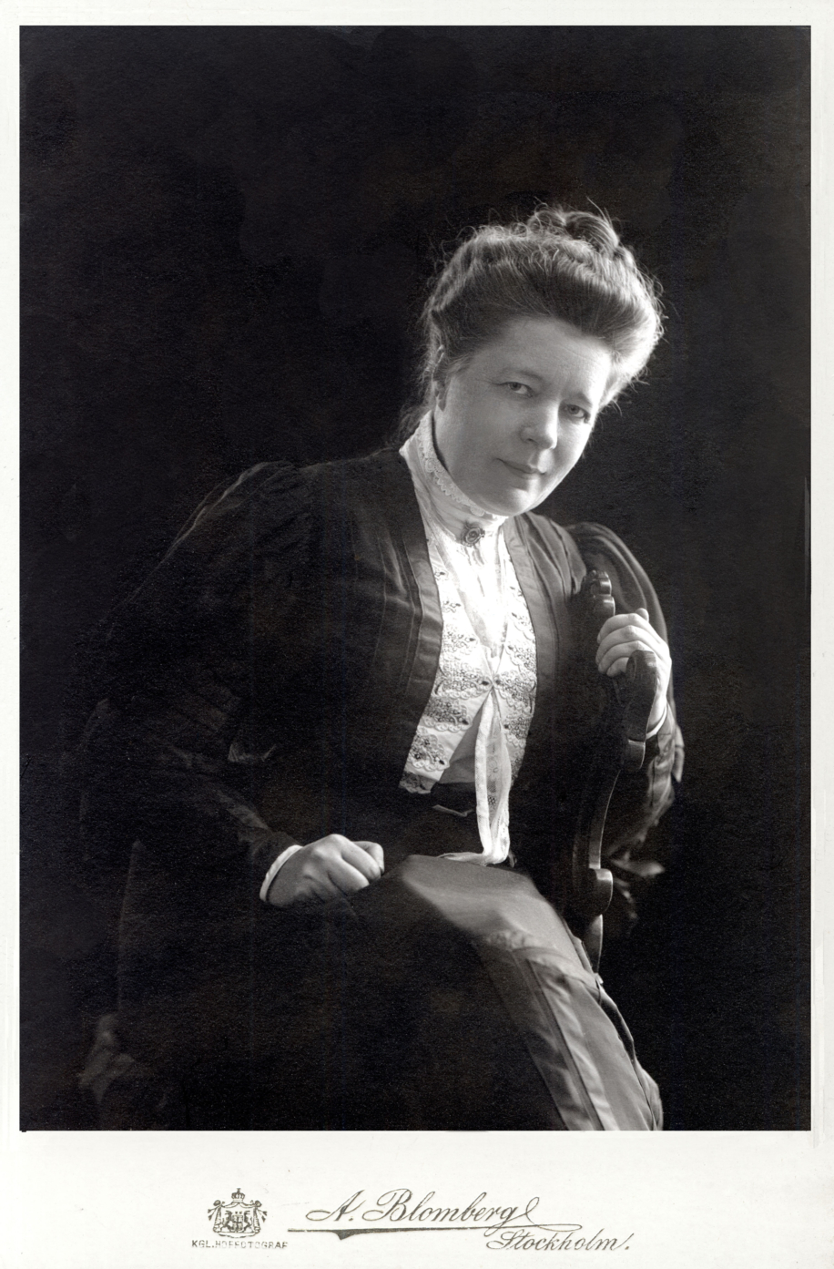 Foto Selma Lagerlöf 1906