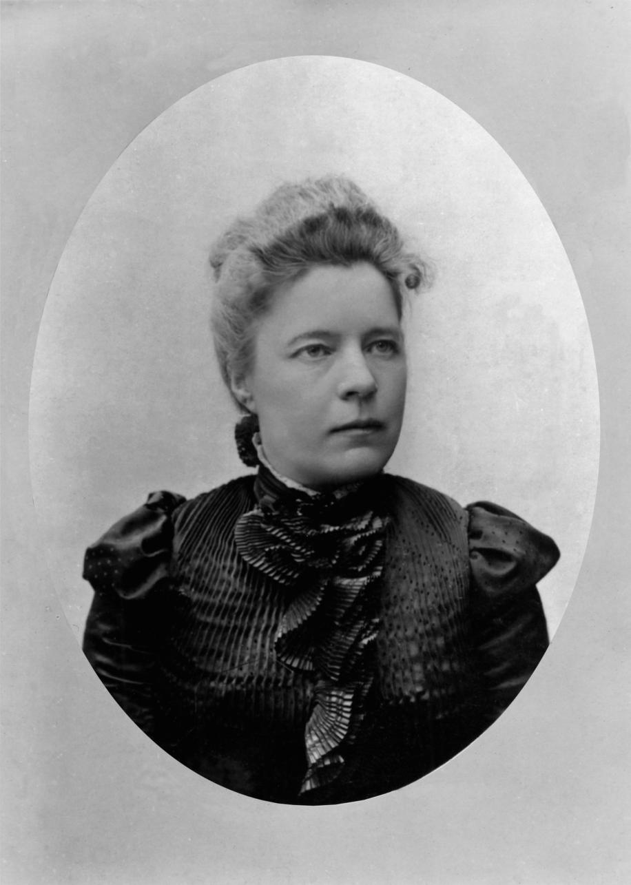 Gammalt foto Selma Lagerlöf 1900