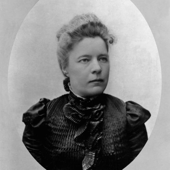 Foto av Selma Lagerlöf 1900
